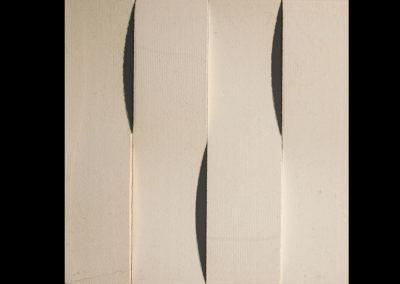 Alesio 3D-Creme Weave Vertical